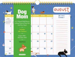 Dog Mom 2021 wall planner