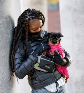 Canada Pooch The Everything fanny pack for walk your dog month