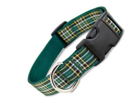 Irish National Tartan Dog Collar