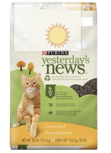 Purina Yesterday's News paper kitten litter