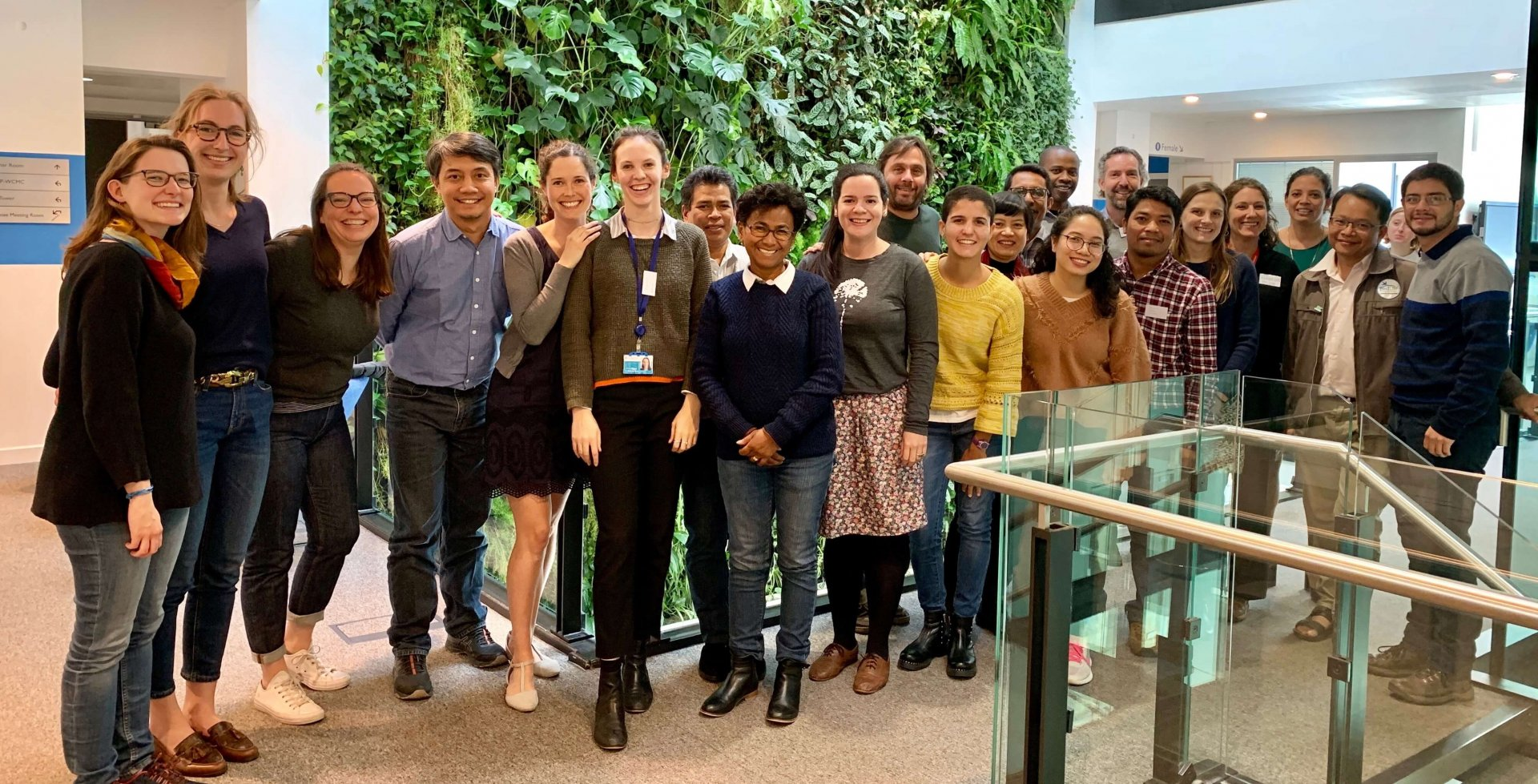 Rado (seventh from left) at the Forest Accelerator workshop in Cambridge, UK in 2019