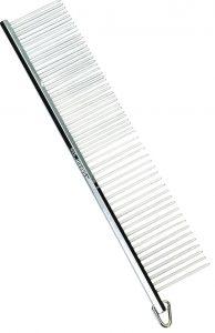 Safari coarse metal dog comb