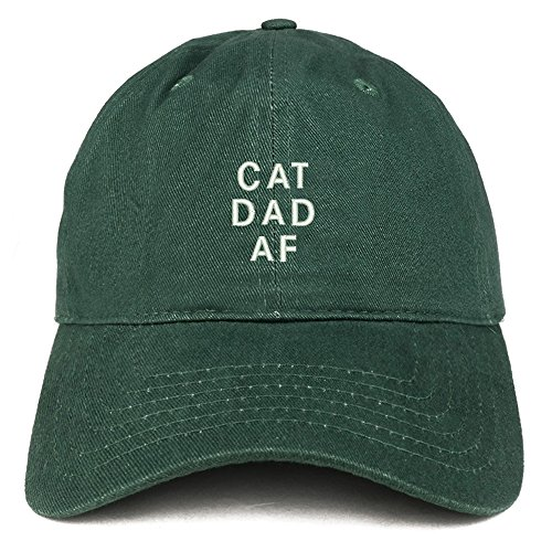 hat in green cotton twill with