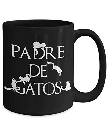 black mug with
