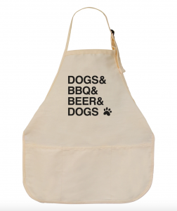 Dogs & BBQ & Beer apron