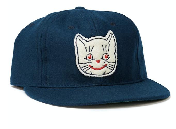 teal vintage baseball cap