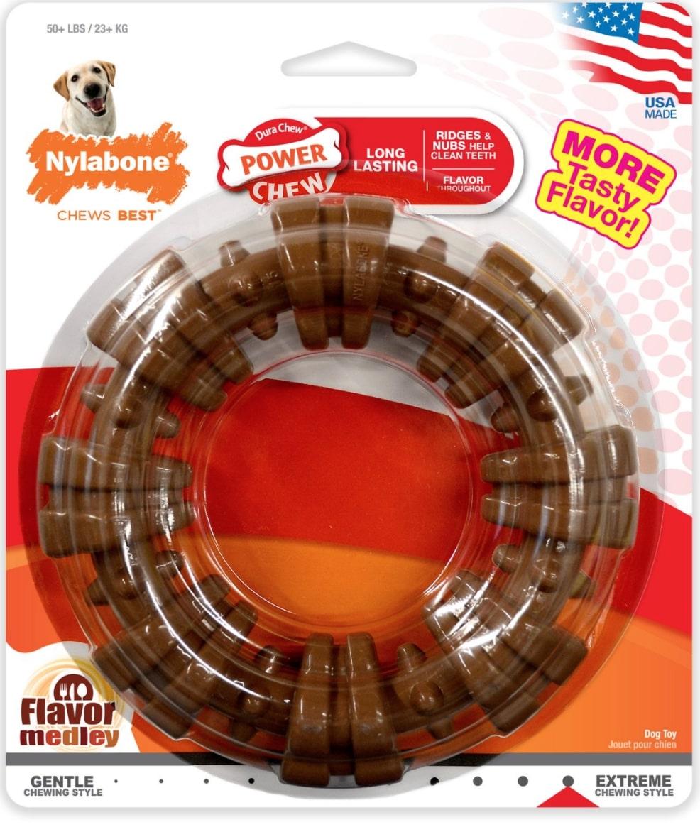 Nylabone Dura Chew Textured Ring