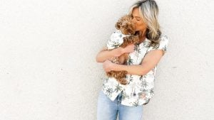 Dog Hawaiian Shirts Dog Threads Sail Away BBQ matching dog and family Hawaiian shirt