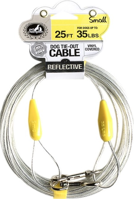 25-foot dog tie-out cable