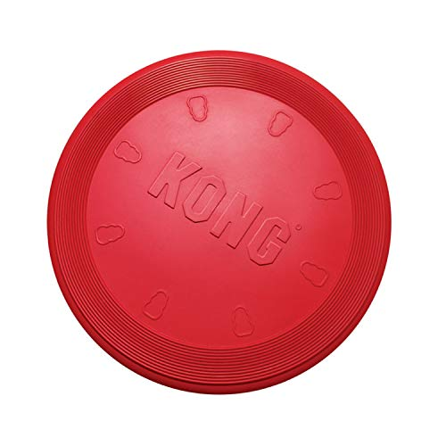 red KONG Flyer frisbee disc