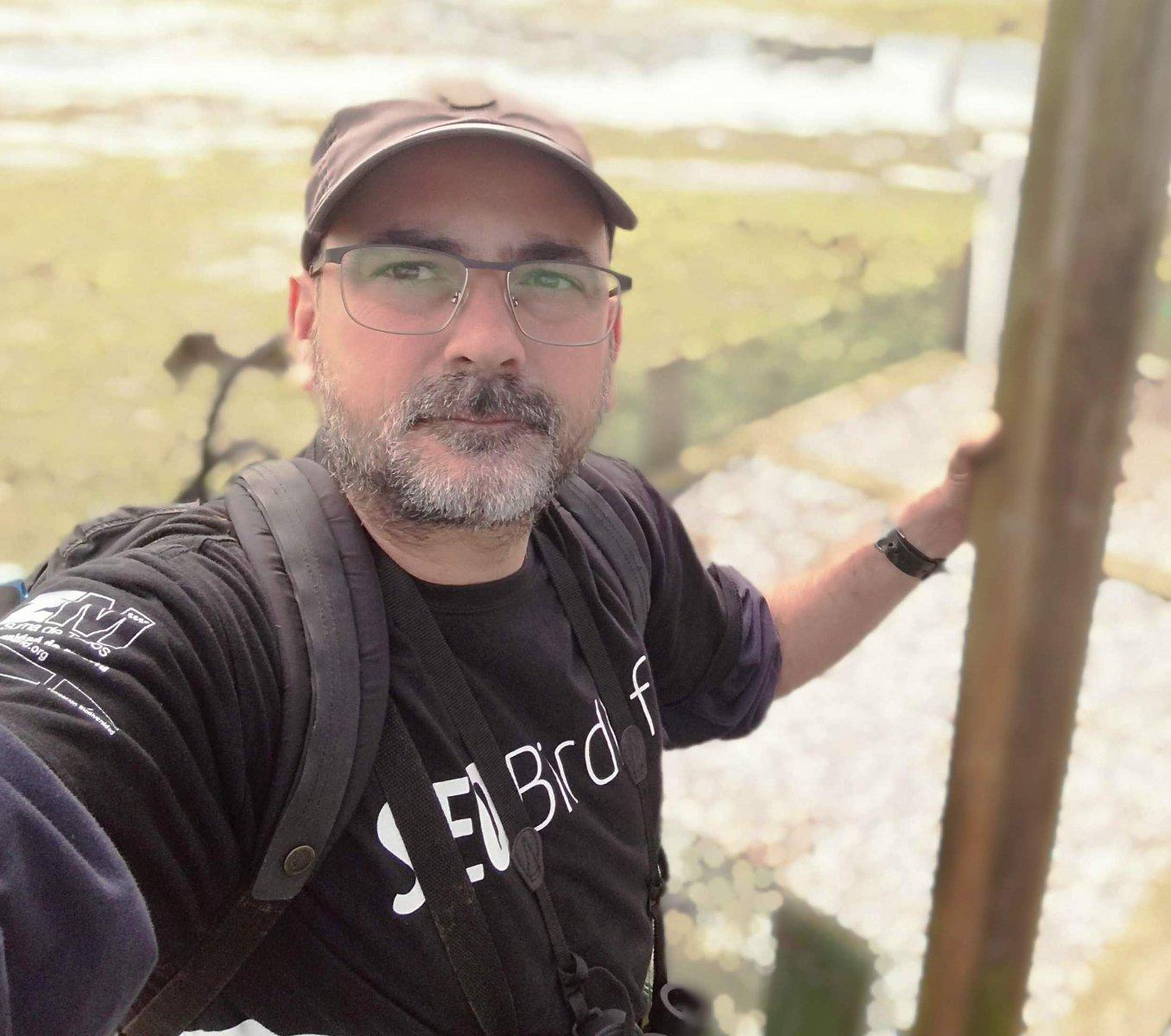 Felipe Gonzalez Sanchez, Cantabria regional officer, SEO/BirdLife