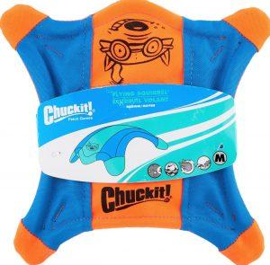 Chuckit flying squirrel dog toy