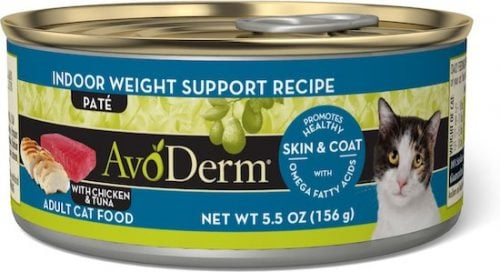Avoderm weight food in green can
