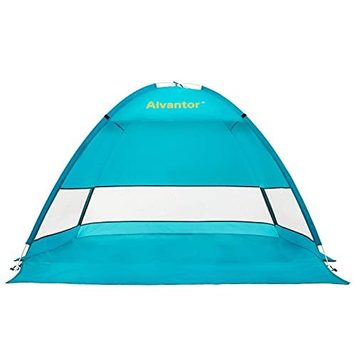 light blue dog beach accessory tent