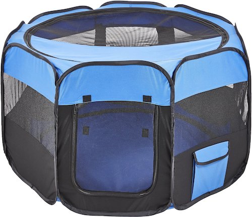 Large Petmaker pop-up playpen with mesh sides